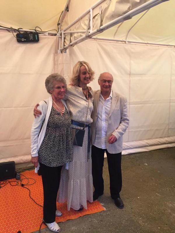 Hénia, ma mère peintre, et Paul, mon mensch de père.