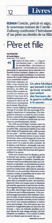 """""""Feu pour feu"""" par Emmanuelle Giuliani"""