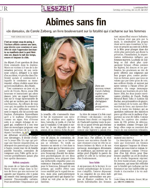 dans le Luxemberger Wort