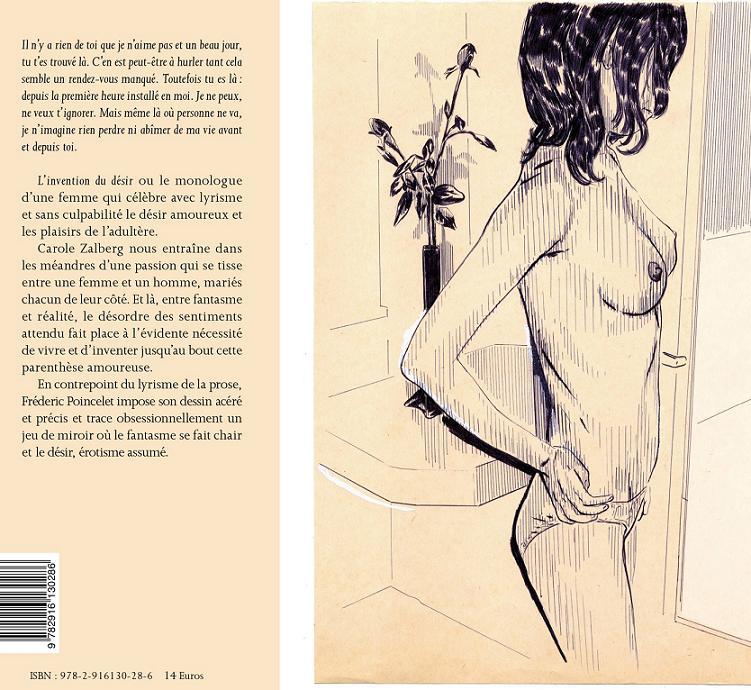 L'invention du désir, novembre 2012, Éditions du Chemin de fer