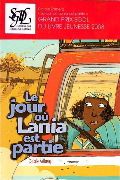 Le jour où Lania est partie, littérature jeunesse 2008, Nathan 10-12 ans