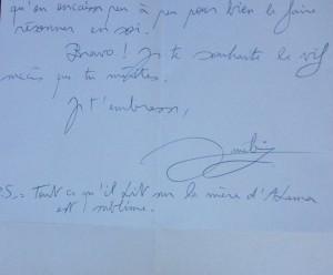 lettre Amélie suite